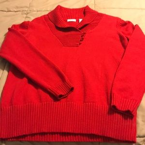 Ladies sweater;like new, worn one time.